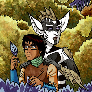 Valley of the Silk Sky - Medicine Run - queer YA sci-fi comic