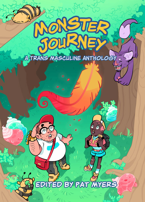Monster Journey - trans masculine comics anthology